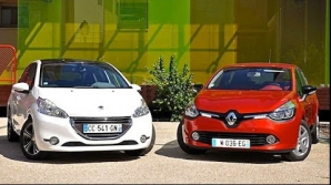 Favoritele clasice ale francezilor: Clio şi Peugeot 208