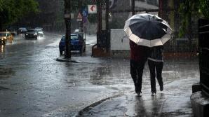 Cod galben de ploi pentru mai multe judeţe din România