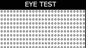 Testul care îţi spune dacă ai probleme cu vederea. Cât de repede îl rezolvi?