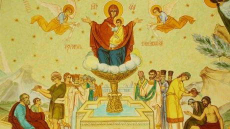 Izvorul Tămăduirii. În fiecare an, în prima vineri după Paşte, Biserica Ortodoxa sărbătoreşte Izvorul Tămăduirii. Creștinii care vin la biserică iau parte la slujba de sfințire a apei, cunoscută și sub numele de Aghiasma Mică. Citește mai departe...