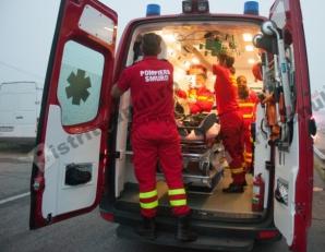 Accident grav cu 10 victime în Bistrița. S-a activat planul roșu de intervenție - Foto: bistriteanul.ro