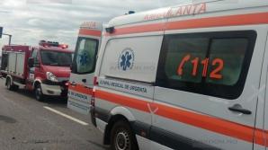Accident grav pe DN 1. Cel puţin 3 răniţi. Traficul este blocat
