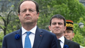 Francoise Hollande si Manuel Valls
