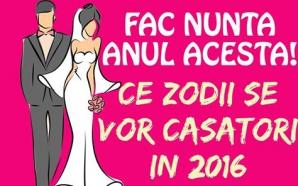 Ce zodii se vor căsători în 2016
