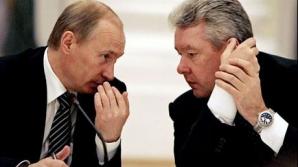 Primarul Moscovei, alături de Putin