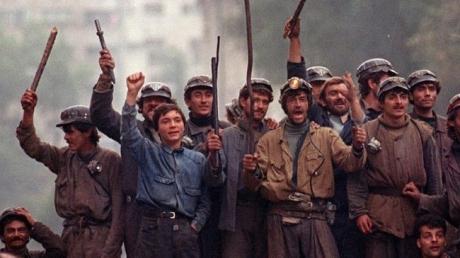 Procesul Mineriadei din 13-15 iunie 1990. Incidente în sala de judecată, huiduieli afară