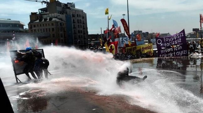 Manifestaţie de amploare în Piaţa Taksim, din Istanbul: mii de persoane, în stradă - Foto: Arhivă
