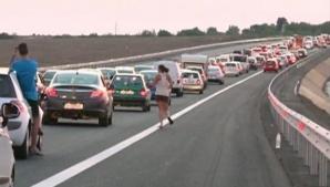 Accident în lanţ pe Autostrada Soarelui: mai multe maşini s-au ciocnit