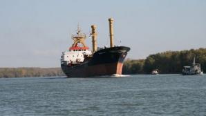 Mină marină, găsită pe Canalul Sulina. Traficul fluvial, închis