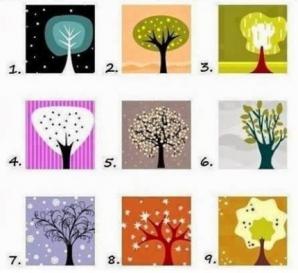Test de personalitate: Alege un copac din imagine şi află ce spune asta despre tine
