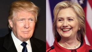 Alegeri prezindenţiale SUA: Hillary Clinton, cu 8% peste Donald Trump