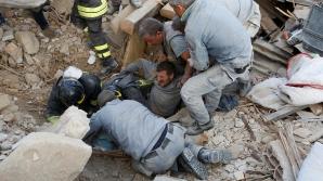 MAE: Opt români au murit în urma cutremurului din Italia. 19 sunt dați dispăruţi