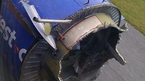 Aterizare de urgenţă în Florida după ce motorul unui avion a explodat în zbor