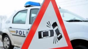 Încă un accident pe DN 1. Două persoane rănite grav