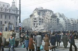 GALERIE FOTO. Imagini de la cutremurul din '77. Capitala, devastată în 56 de secunde