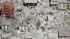 VIDEO dronă. Aşa arată oraşul Amatrice după cutremurul din 24 august. Este groaznic