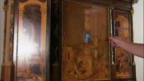 A vrut să descuie un dulap vechi de 200 de ani. Când a văzut ce se întâmplă a înlemnit