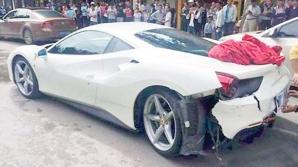 Ciocnire Ferrari