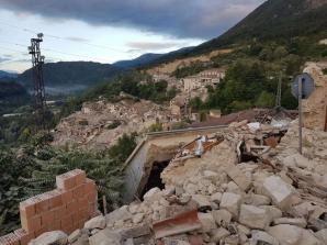 CUTREMUR ITALIA. Noi imagini după cutremur. Totul s-a distrus în mai puţin de 30 de secunde