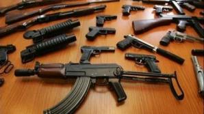 Percheziţii DIICOT la traficanţii de arme, în Bistriţa Năsăud şi Târgu Mureş