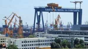 Accident de muncă mortal la Șantierul Naval Constanța