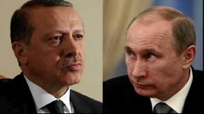 Putin, telegramă adresată lui Erdogan, după atacul cu bombă de la nunta din Gaziantep