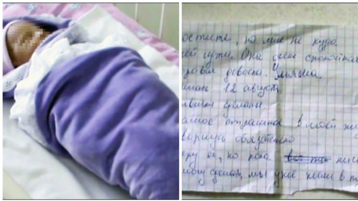 A găsit în iarba de lângă bloc un copil, iar alături de el, un bilet. L-a citit și s-a cutremurat