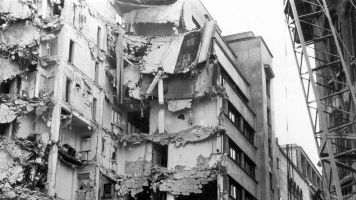 Înregistrare înfricoșătoare: Cum a sunat cutremurul din 1977 din Bucureşti