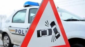 Accident pe DN 1, la intrare în Bucureşti