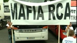 Proteste de amploare ale transportatorilor pe tema RCA