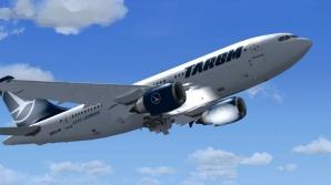 """Avion TAROM, întors din zborul către Amsterdam: """"Am simţit fum!"""""""