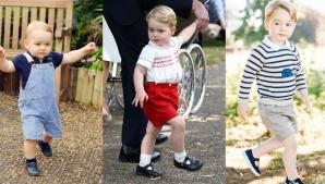 De ce Prințul George este îmbrăcat de fiecare dată în pantaloni scurți? Iată răspunsul!