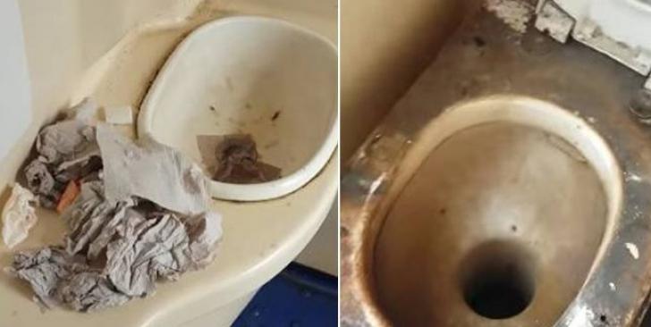 Imagini de coşmar în Trenul Timişoara-Iaşi! Pur şi simplu mizerabil!