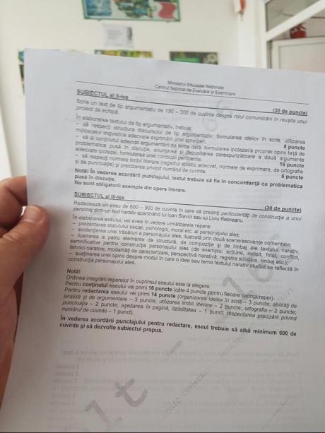Probele scrise ale examenului de Bacalaureat, sesiunea iunie-iulie 2017 subiecte_romana_bac_2017_82815300