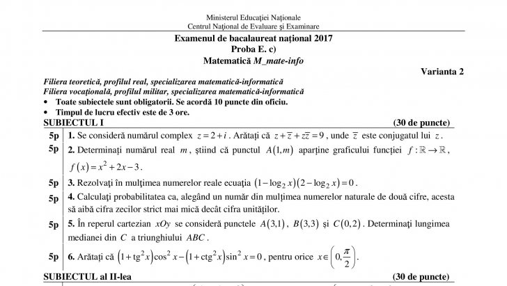 (w728) M1 subiect