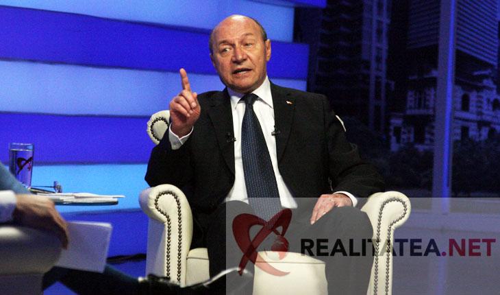 Traian Basescu. Foto: Cristian Otopeanu
