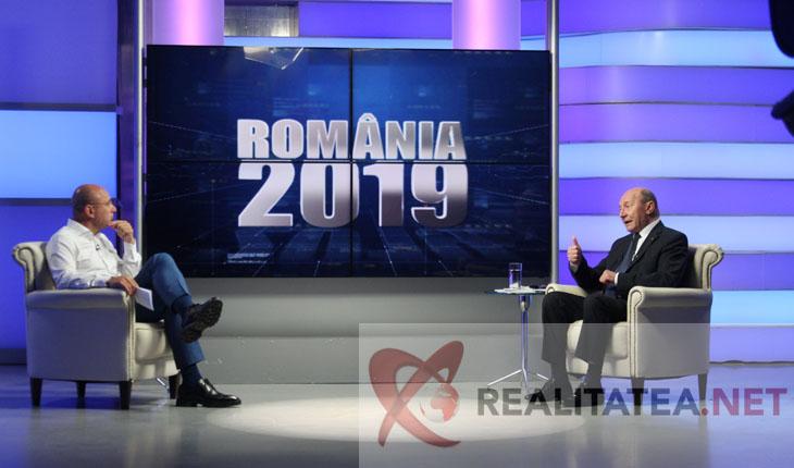 Traian Basescu si Cozmin Gusa. Foto: Cristian Otopeanu