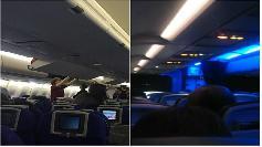 VIDEO. Pasagerii au indurat cel mai groaznic zbor: Au fost zece ore in Iad