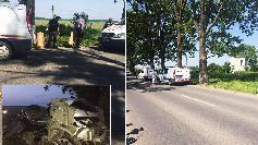 Ce au gasit politistii in IARBA, la locul accidentului in care a murit Dan Condrea! Primele imagini