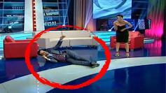 Madalin Ionescu, intins pe jos in platoul emisiunii. Ce s-a intamplat