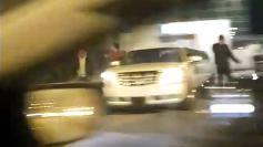 Nu e gluma: l-au asteptat cu limuzina la poarta inchisorii Rahova. VIDEO