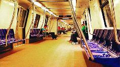 Calatoriii au crezut ca nu vad bine! Cine a urcat cu ei in metrou, la Pipera