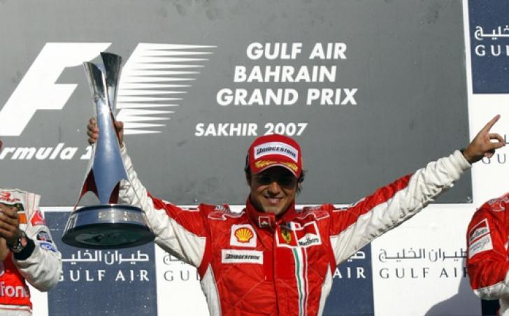 Felippe Massa, câştigătorul Bahrain Grand Prix