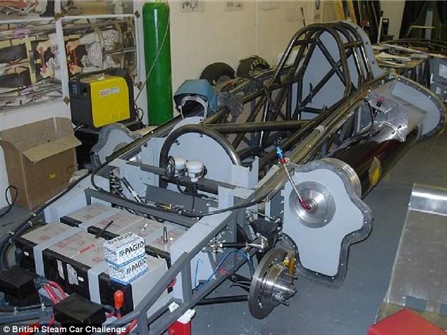 FOTO: British Steam Car Challange