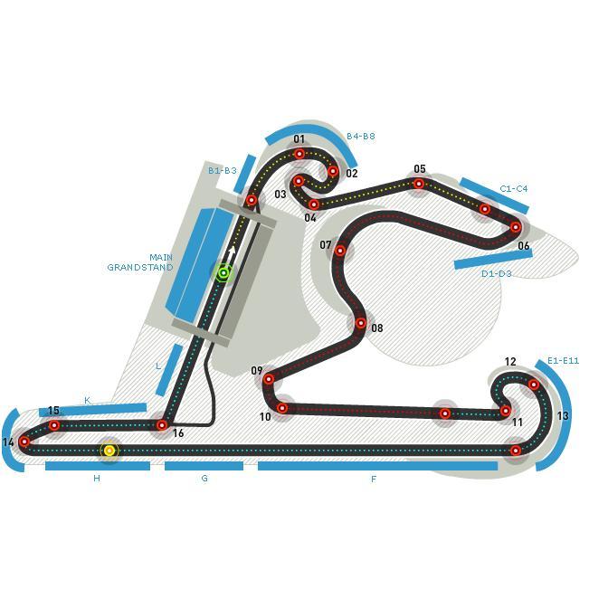 Circuitul de la Shanghai Foto: formula1.com