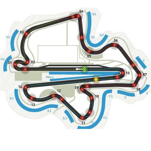 Circuitul Sepang Foto: formula1.com