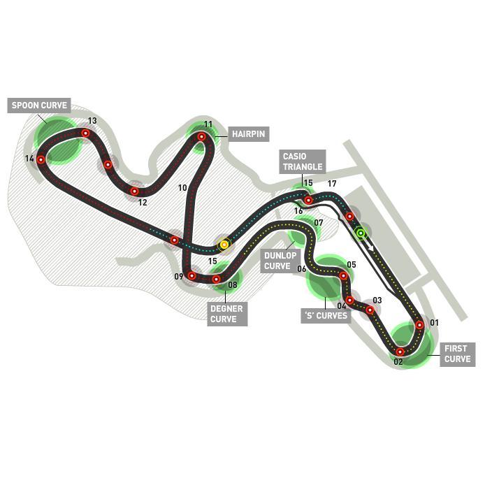 Circuitul Suzuka Foto: formula1.com