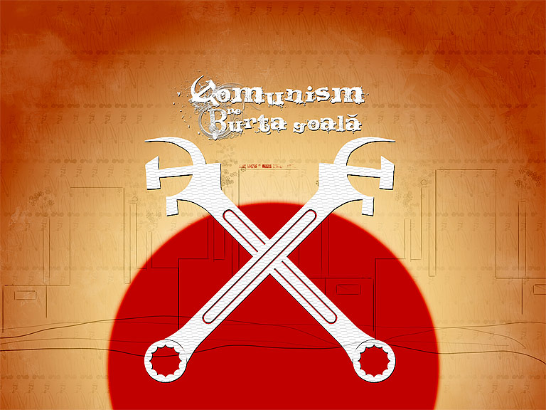 Comunism pe burta goala
