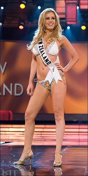 Foto: thesun.co.uk - Miss Noua Zeelandă