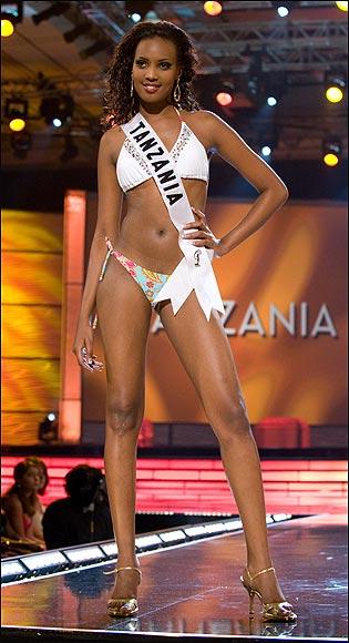 Foto: thesun.co.uk - Miss Tanzania